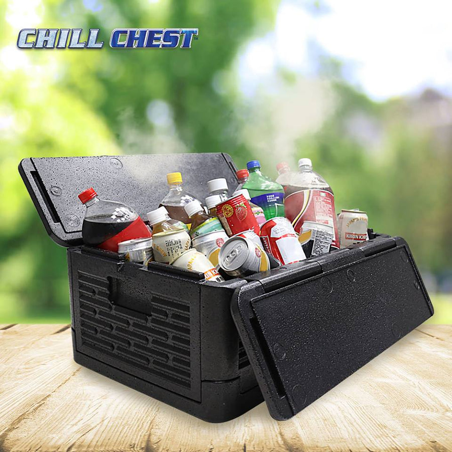 SA Portable Insulated Chill Chest Cooler Box