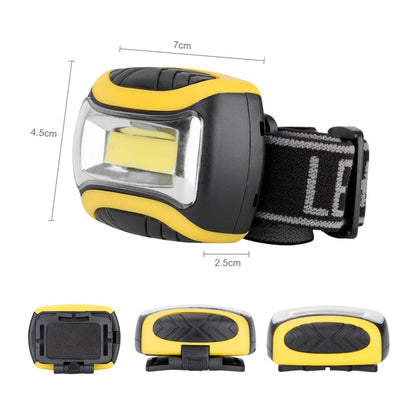 SA Mini Waterproof LED 4 Mode Headlight