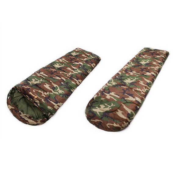 SA Military Camouflage High Quality Cotton Camping Sleeping Bag