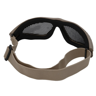 SA Comfortable Airsoft Safety Tactical Glasses with Anti Fog and Metal Mesh