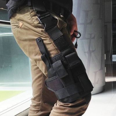 SA Adjustable Drop Leg Holster Pouch Holder