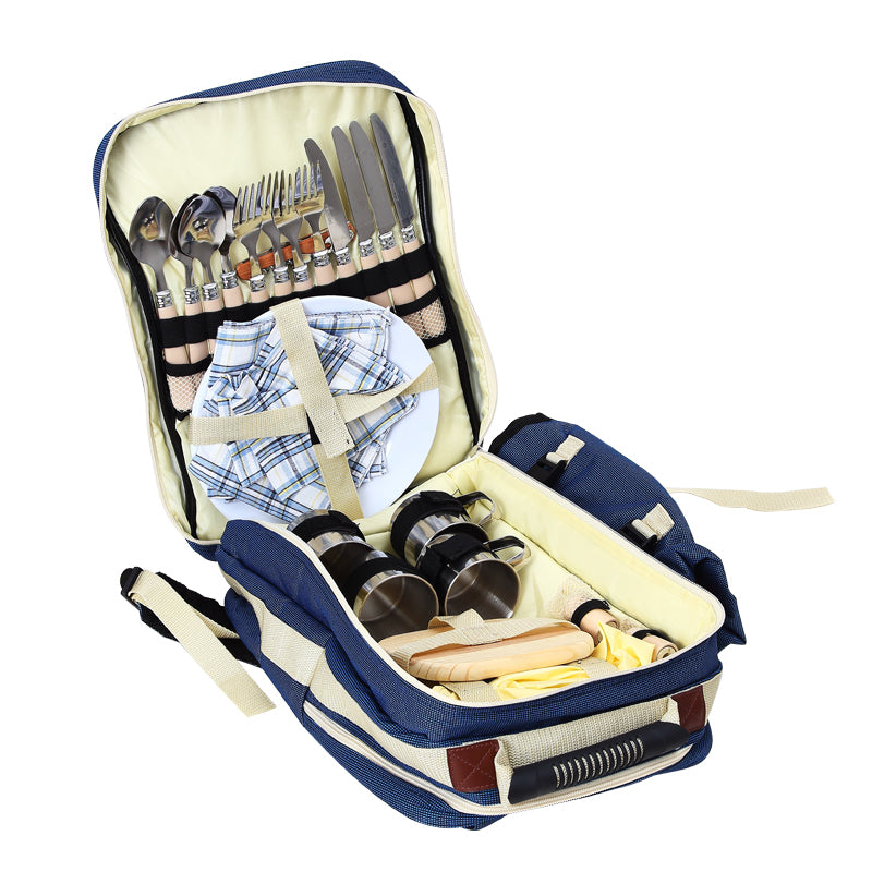SA Insulated Outdoor Bag with Tableware