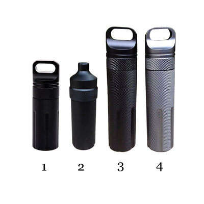 SA Aluminum Waterproof Storage and Survival Capsule