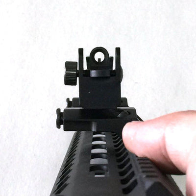 SA Tactical Backup Front And Rear Flip Up 45 Degree Offset rapid Transition Sight