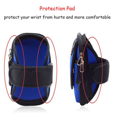 SA Convenient Outdoor Storage Waterproof Armband