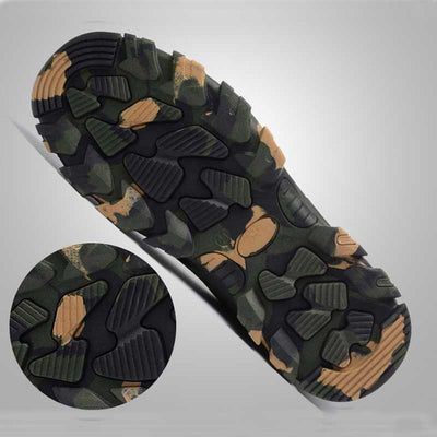 Outdoor Steel Toe Camouflage Work Shoes