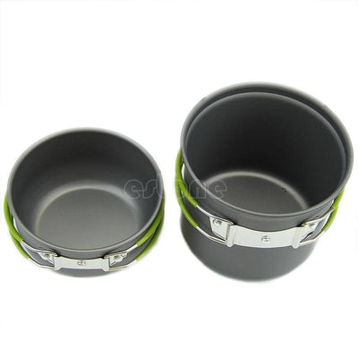 SA Portable Outdoor Non-stick Pots Pans Bowls