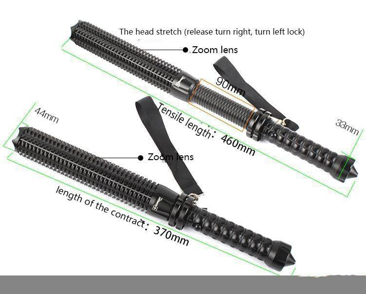 SA Led Extendable Tactical Light