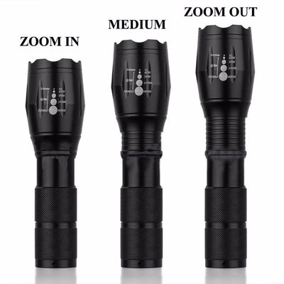 SA LED Telescopic Zoom Military Tactical Led Flashlight