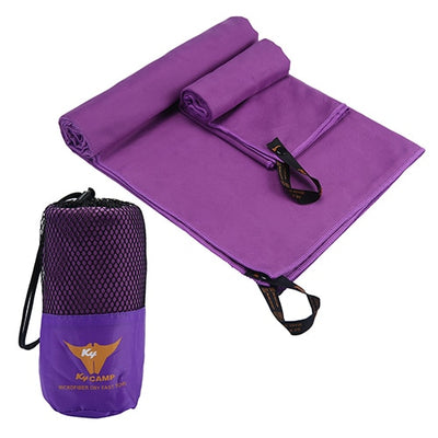 SA 2pcs/Set Microfiber Towel Set