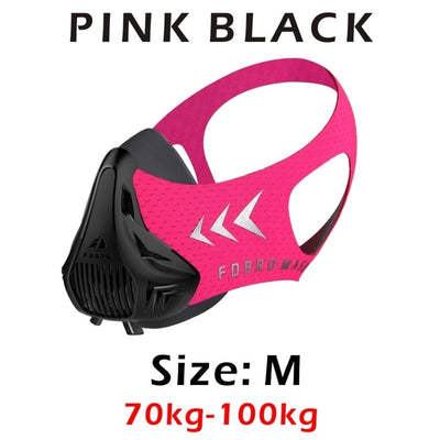 SA FDBro Spots Fitness Workout Mask