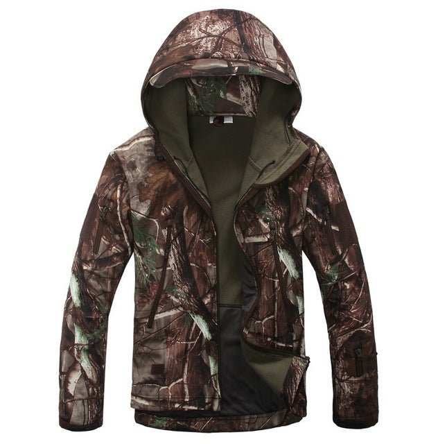 Waterproof and Wind Resistant Tactical Jacket