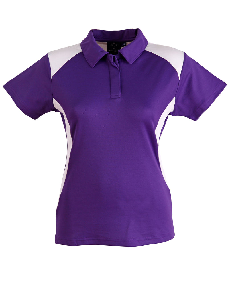 AIW Ladies Truedry Contrast Polo