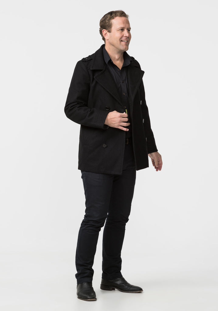Mens Mariner Pea Jacket