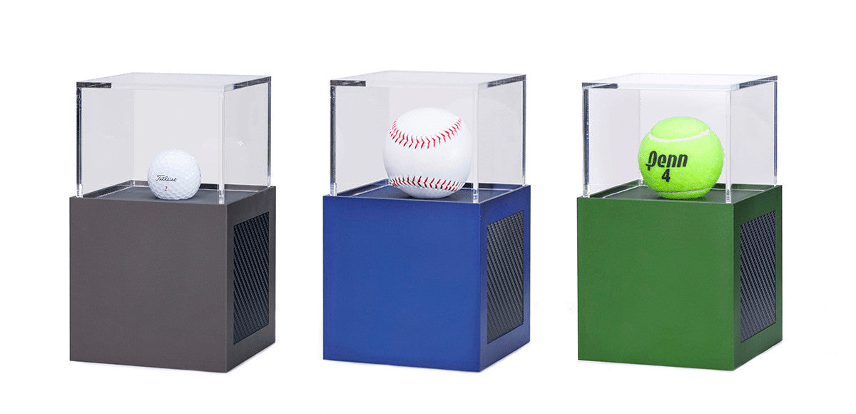 baseball tennis golf display case aluminum