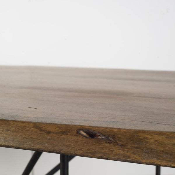Pilliap Acacia Wood Dining Table - Live Edge - Rustic Edge