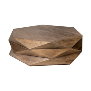 "Retaro 48"" Hexagon Coffee Table with Hinged Top"