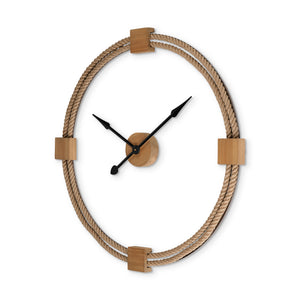 Rowting oversized wall clock- Rustic Edge