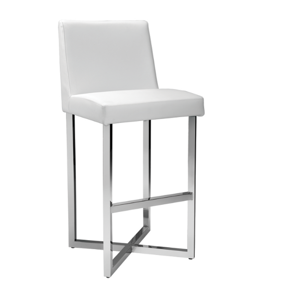 Carole Contemporary Barstool - Rustic Edge