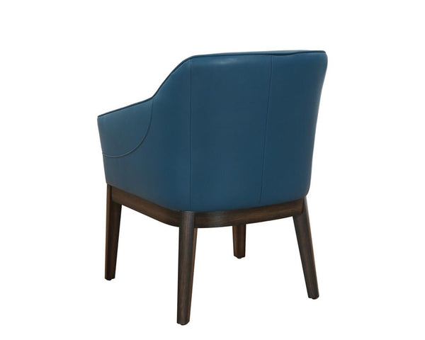 Beatrix Arm Chair - Turquoise - Rustic Edge