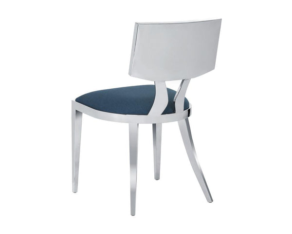 JARRAN DINING CHAIR BLUE SET OF 2