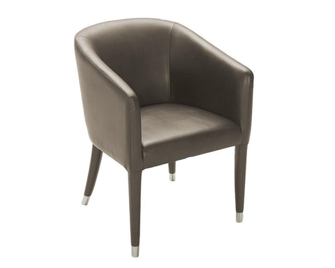 Audwin Armchair Dove Grey - Rustic Edge