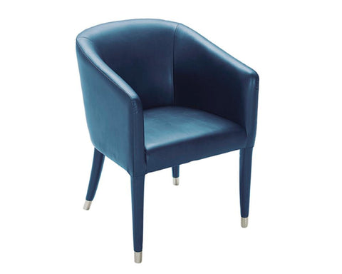Audwin Armchair Turquoise - Rustic Edge