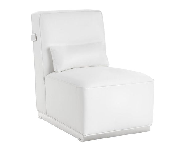 FRANCISCA CHAIR WHITE LEATHER