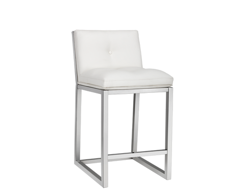 JACOBA COUNTER STOOL WHITE