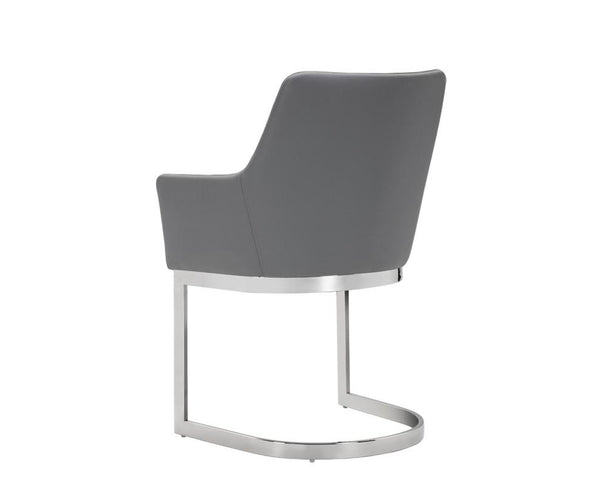 DUNMORE CANTELIEVER DINING CHAIR GREY