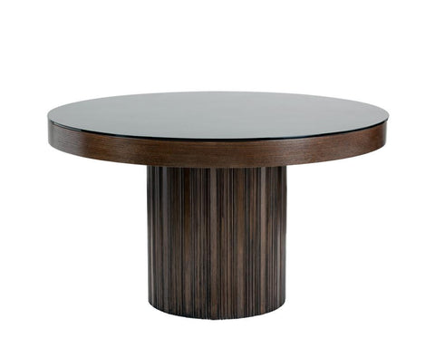 Artajack Dining Table - Rustic Edge