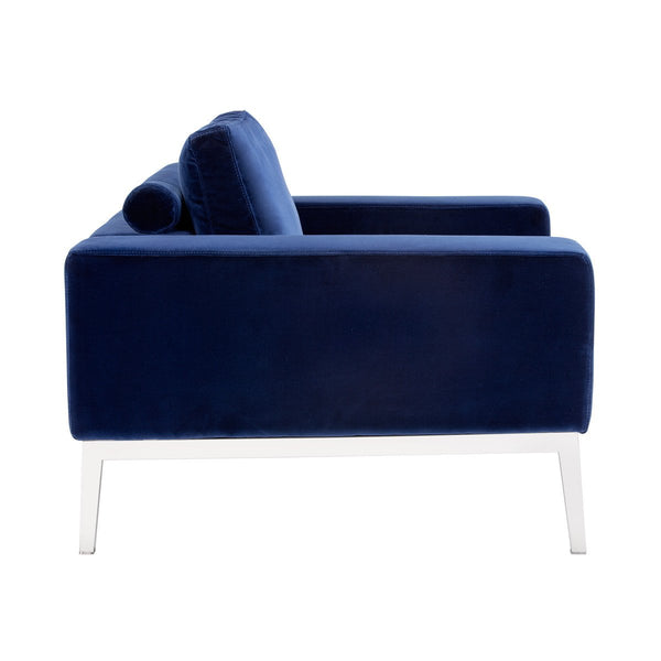 MERRILL ARMCHAIR BLUE