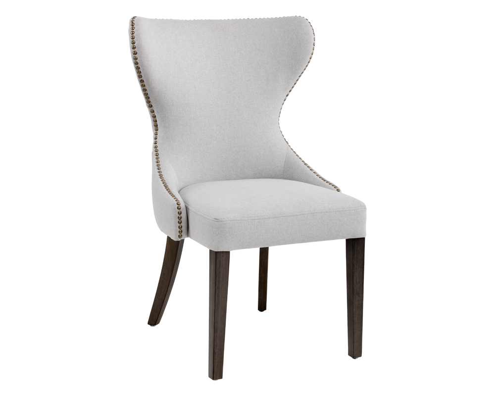JASPAR DINING CHAIR LIGHT GREY