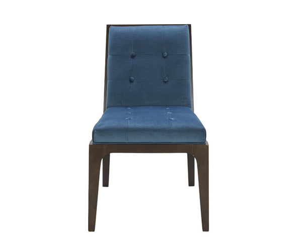 JESSTIN DINING CHAIR INK BLUE SET OF 2