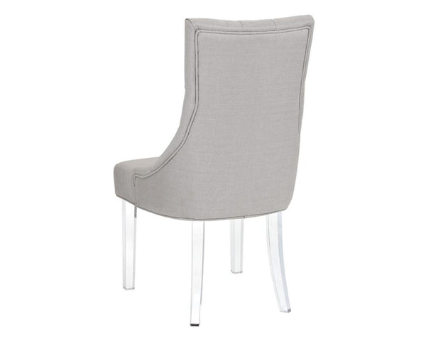SLOAN DINING CHAIR STONE GREY