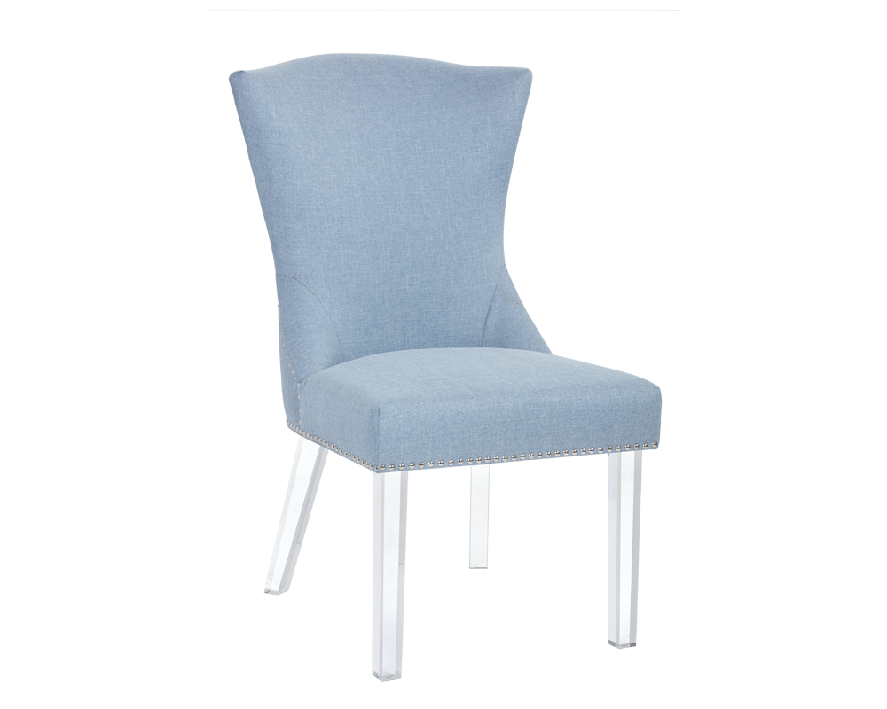 MUNRO DINING CHAIR ICE BLUE