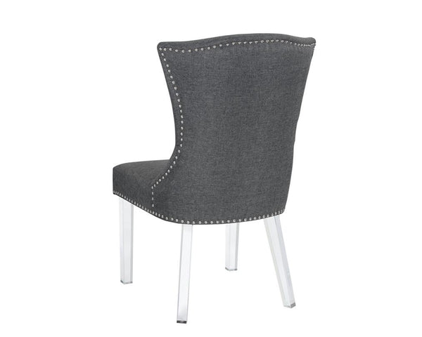 MUNRO DINING CHAIR CARBON GREY