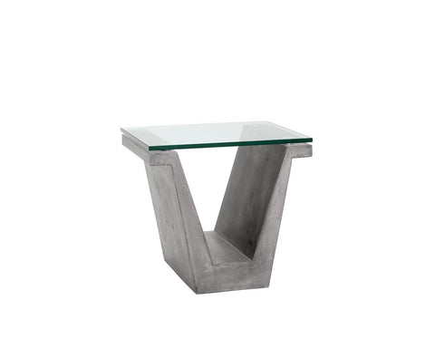 HUGUES END TABLE - Intrustic home decor