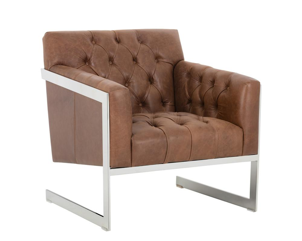 EMERY ARMCHAIR PROFUNDO SEPIA BROWN