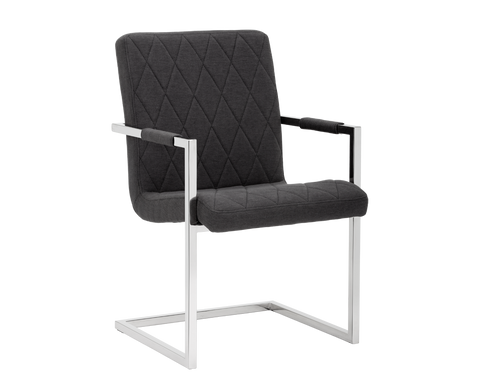DILLIE DINING CHAIR BLACK SET OF 2