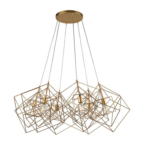 Dimond Lighting Box Cluster Pendant Light - 1141-032