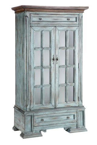 Hartford Cabinet - 12031 Two drawer Two Door Moonstone