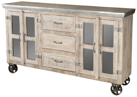 Bertram Three Drawer Sideboard- 12581- Stein World - Rustic Edge