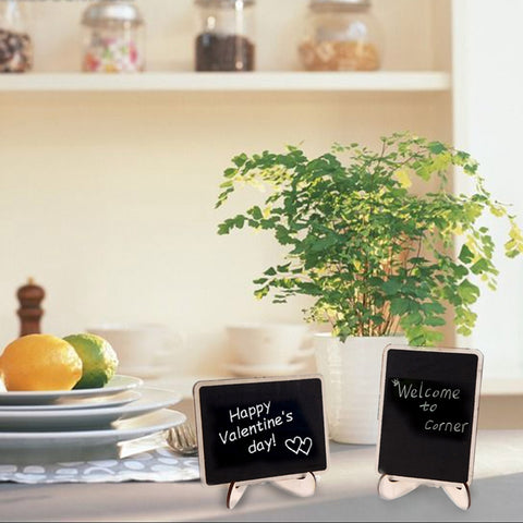12pcs/set Mini Blackboard Place Card Holder - Black Friday Deals - Rustic Edge