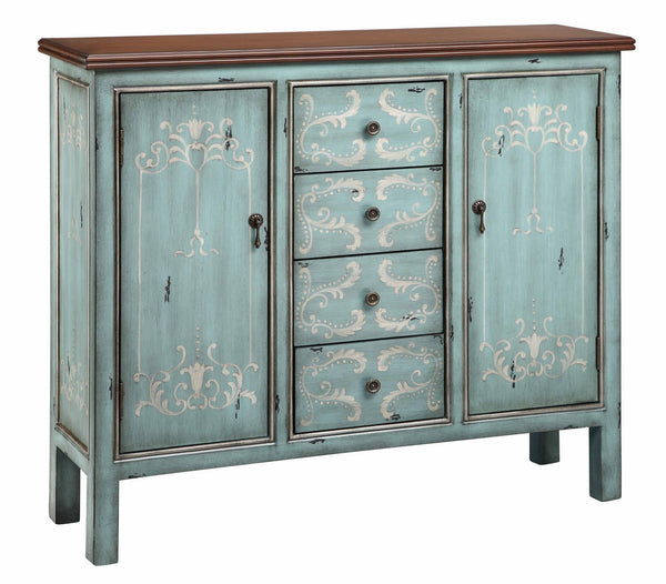 Tabitha 4 Drawer 2 Door Cabinet - 13180- Stein World