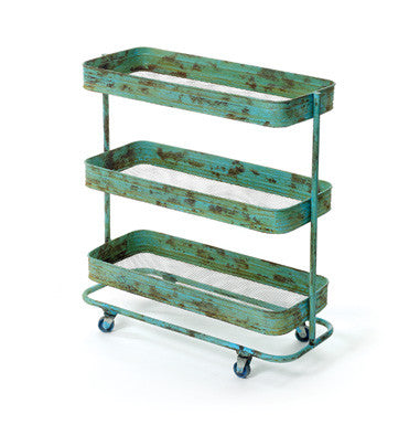 Go Home Urban Rolling Bar Cart 13185