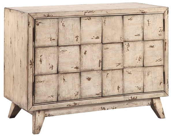 Delaunay Cream 2 Door Cabinet - 13343 - Stein World