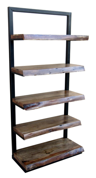 Stein World Live Edge 5 Shelf Unit 13419