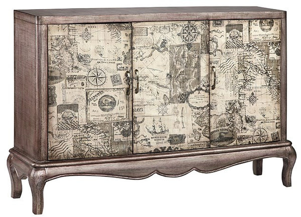 Gallatin Vintage 3 Door Cabinet/Sideboard - 13564 - Stein World