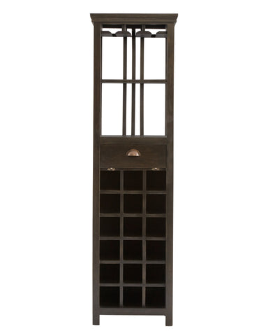 Stein World Fauna Tall Wine Cabinet w/rack 13619